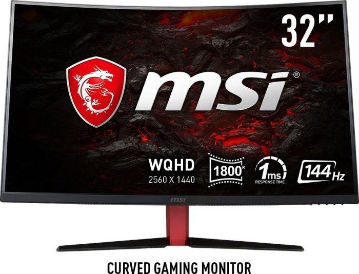 MSI Optix AG32CQ Curved Monitor (2560x1440, 144Hz, 110% sRGB, Adaptive Sync)