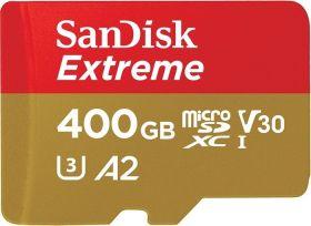 SanDisk Extreme, 400GB, microSDXC