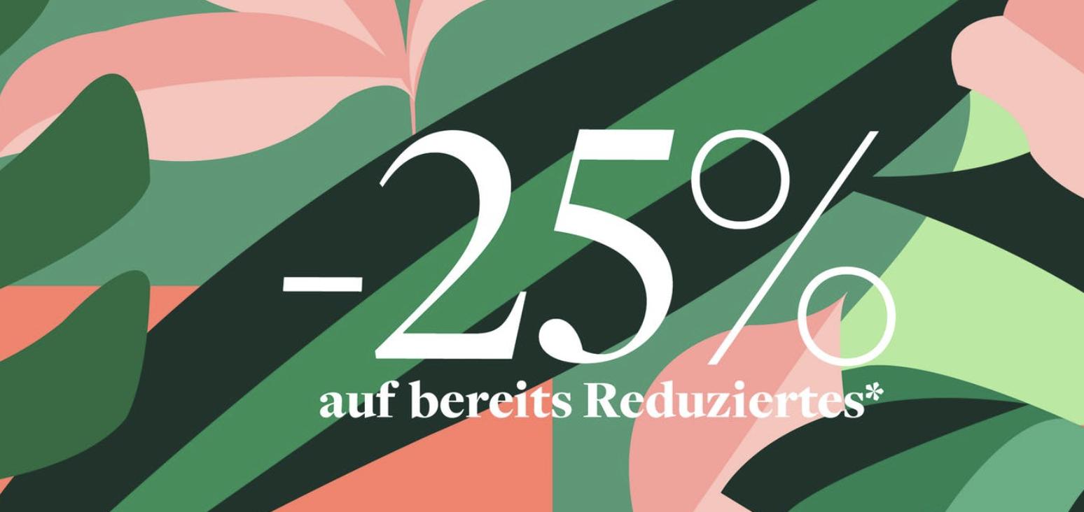Home24: 25% auf bereits reduzierte Artikel