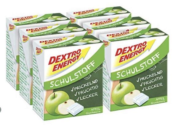 6 x 50 Gramm Dextro Energy Schulstoff