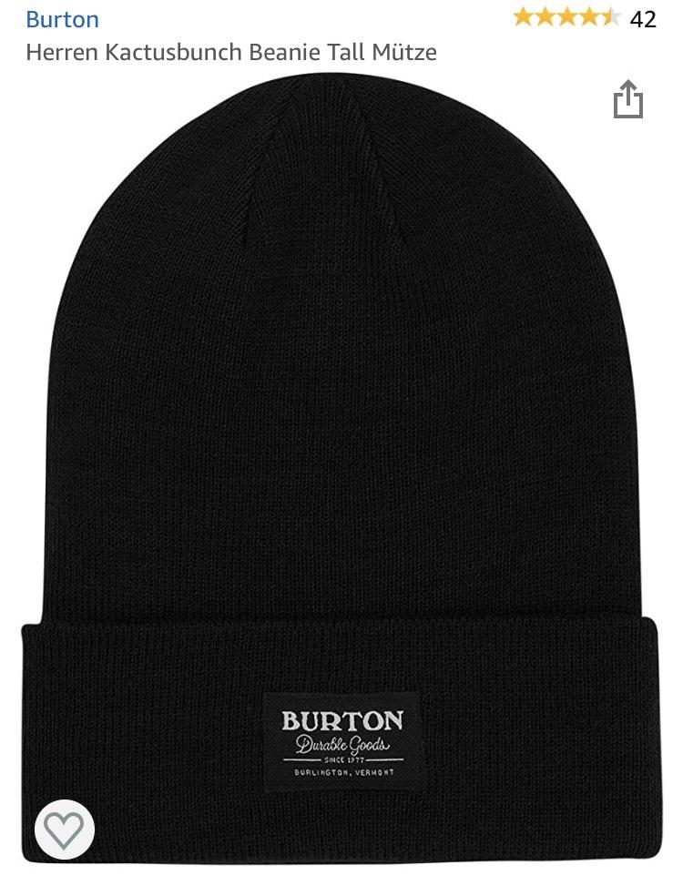 Burton Herren Beanie Mütze