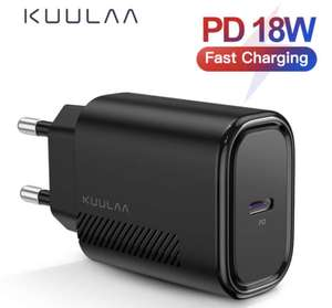 Ladegerät 18W PD 3,0 Quick Charge 4,0 Schnelle Lade USB C