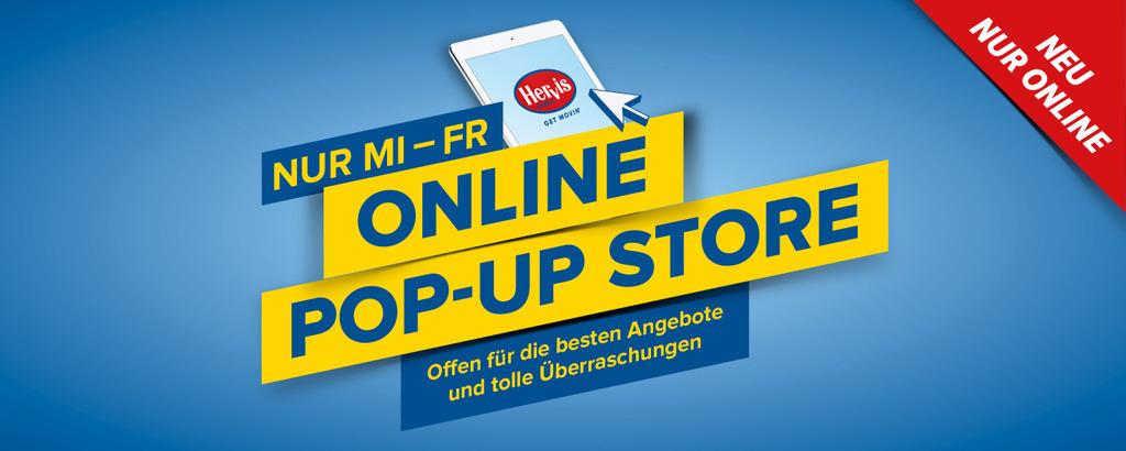 Hervis Online Pop-Up Store mit z.B. Polar Vantage M M/L in Rot