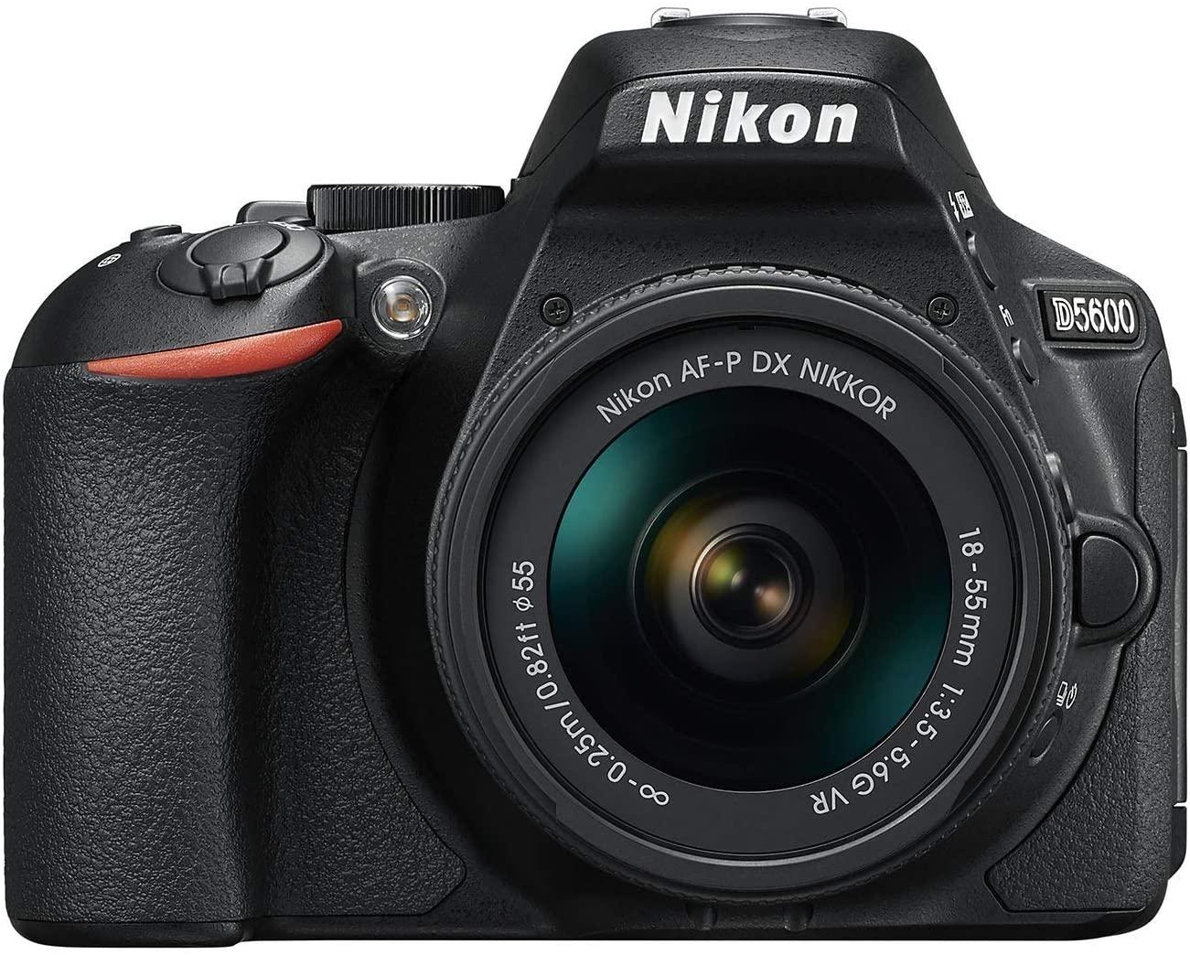 [Amazon] Nikon D5600 Kit AF-P DX 18-55 VR Spiegelreflexkamera um nur 444€ (statt 569€)