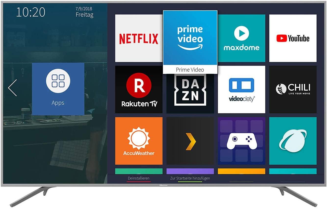 Hisense H75BE7410 Fernseher (3840x2160, Dolby Vision, HDR10, HLG, 4x HDMI, HEVC (H.265), WLAN, Dolby Digital Plus, DTS)