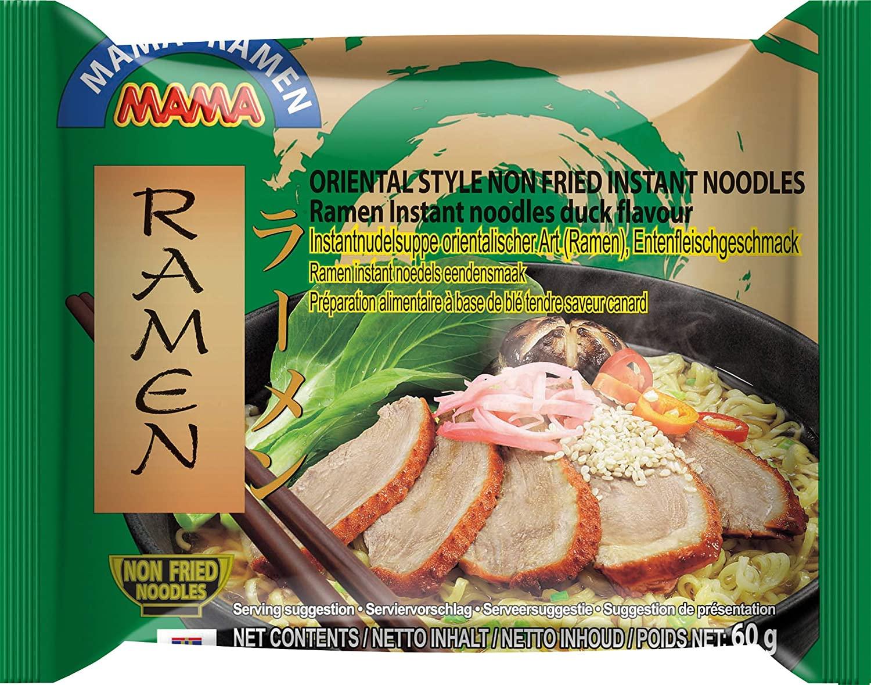30x MAMA Ramen Instantnudeln mit Entenfleischgeschmack