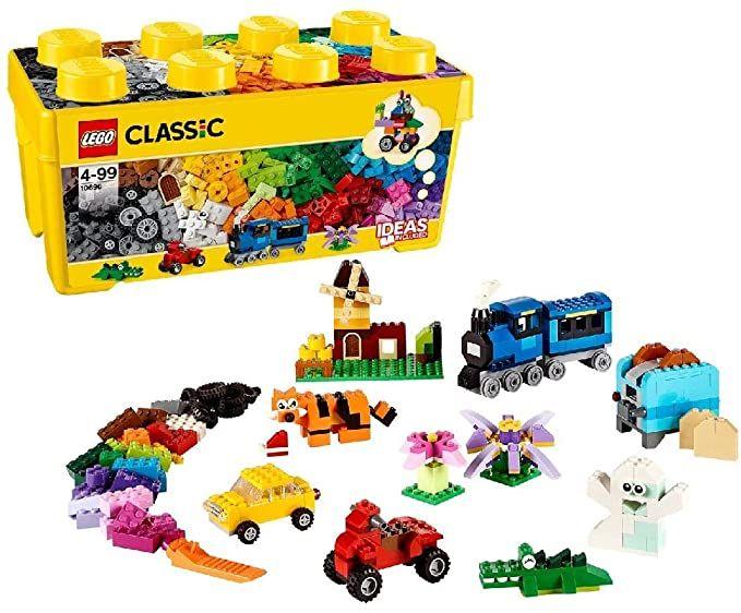 LEGO Classic Mittelgroße Bausteine-Box