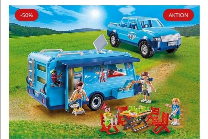 PLAYMOBIL SET Pickup & Wohnwagen (plus Giveaway)
