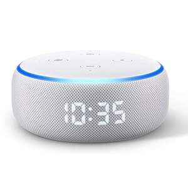 Amazon Echo Dot 3 mit Uhr
