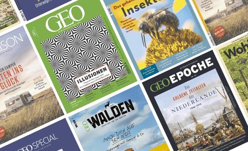 Geo, Chefkoch, Capital uvm. als E-Paper bis 30.4.2020 Gratis zum lesen