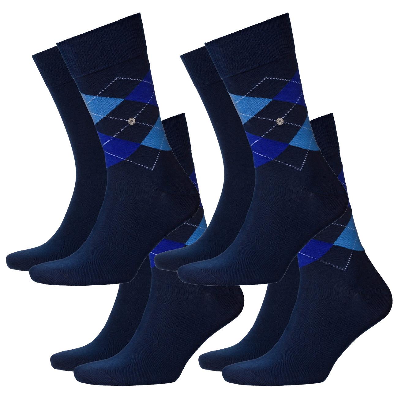 [Amazon] Burlington Herren Socken Everyday Mix 4er Pack (40/46) Marine oder Anthracite Melange