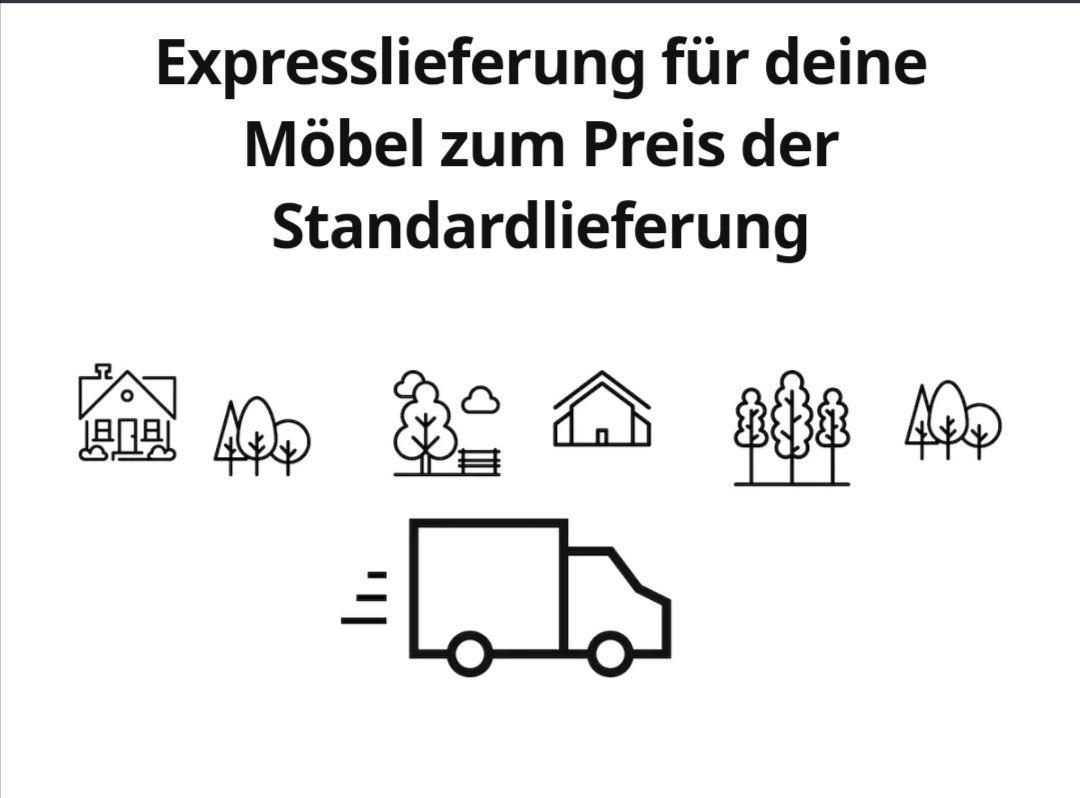 Expresslieferung für deine Möbel zum Preis der Standardlieferung IKEA