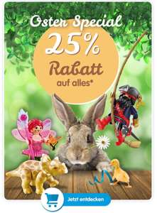 -25% auf (fast) alles bei Playmobil