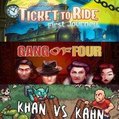 Ticket to Ride: First Journey (Steam) ab dem 09. April & Gang of Four ab dem 2.April & Khan VS Kahn ab dem 03.April kostenlos (Steam Shop)