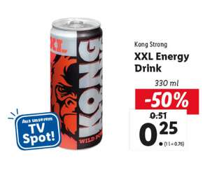 Lidl Kong Strong XXL Energy Drink 330ml