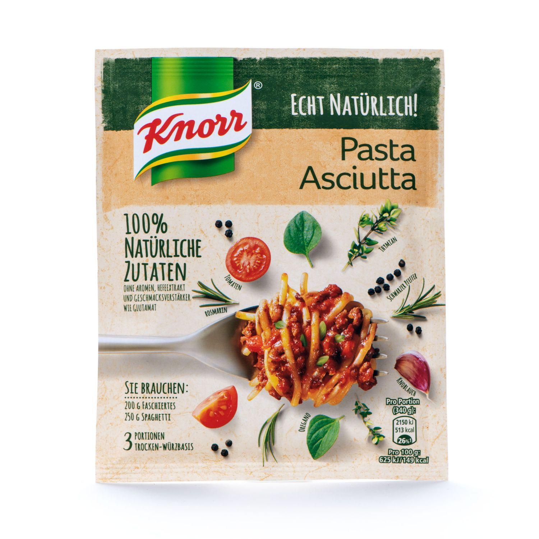 KNORR Basis Echt Natürlich, Pasta Asciutta