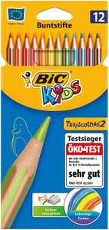 12x BIC Kids Buntstifte