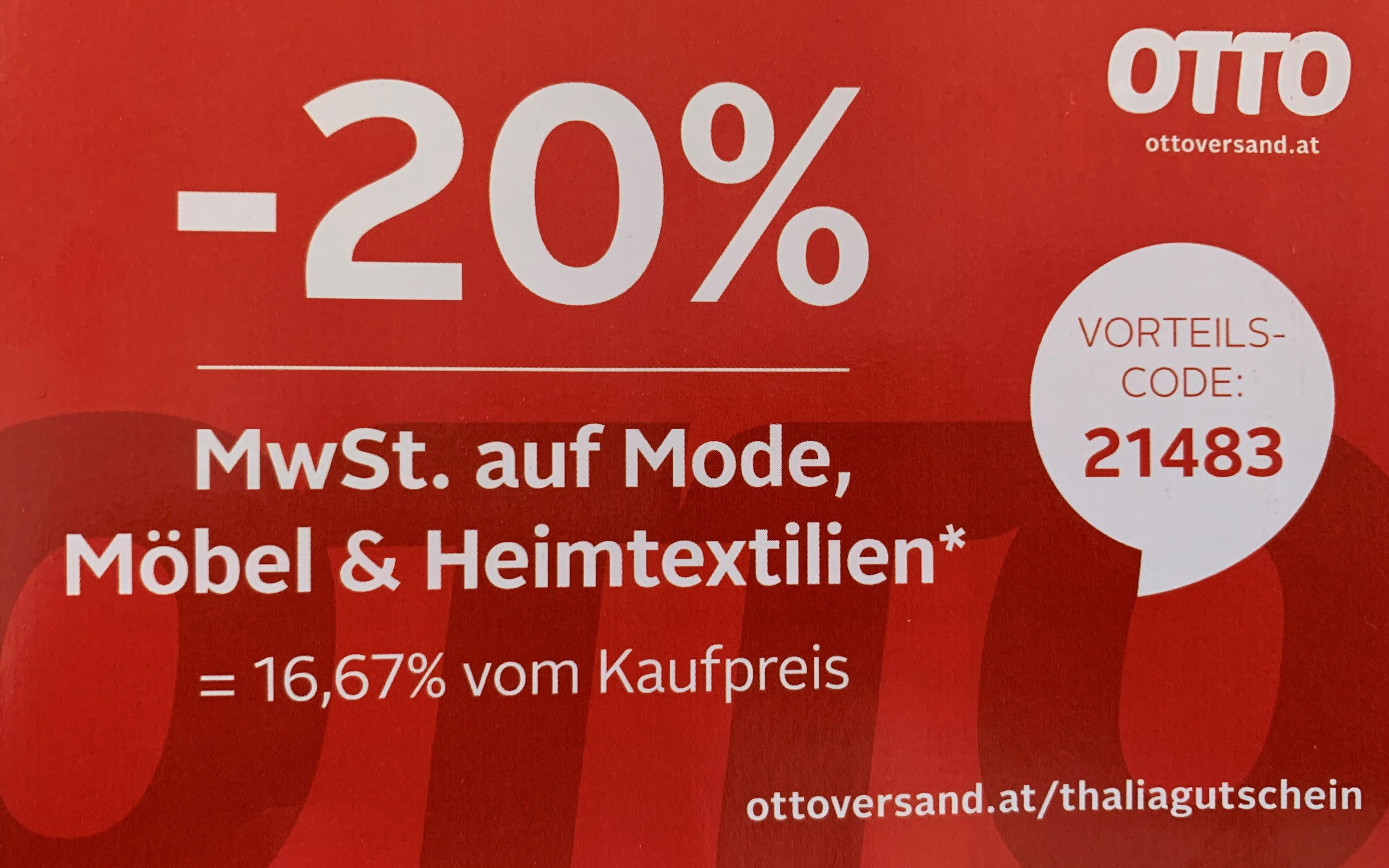 -20% bei Ottoversand
