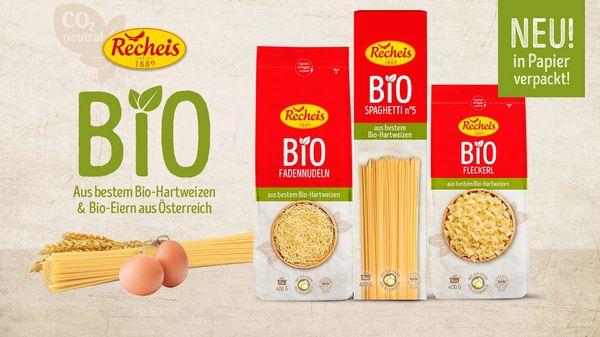 Recheis Bio Nudeln -55% bei SPAR mit MarktGuru