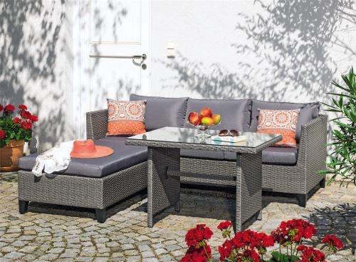 Jardini Dayton Gartenmöbel Set 3tlg