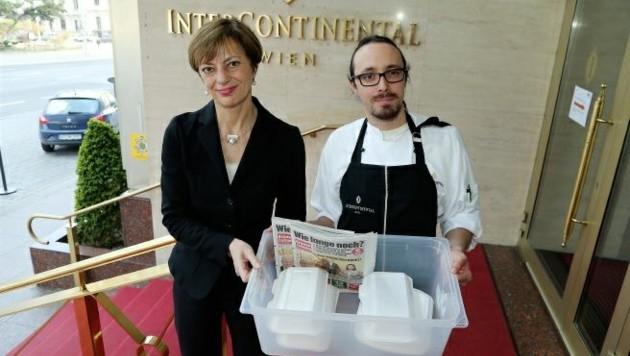 (1030 Wien) Hotel Intercontinental - täglich 400 GRATIS Mahlzeiten für Senioren - bis 13.4.2020