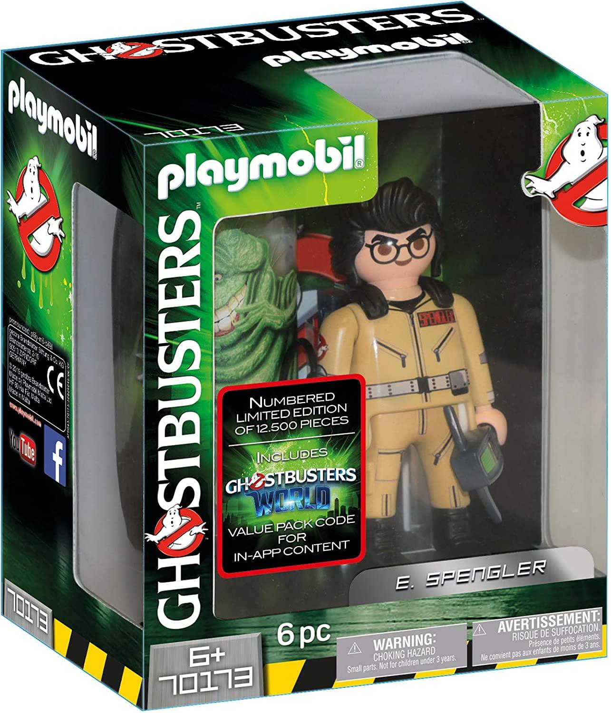 PLAYMOBIL Ghostbusters 70173 Sammlerfigur E. Spengler