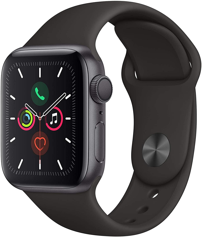 Apple Watch Series 5 (GPS, 40 mm) Aluminiumgehäuse Space Grau