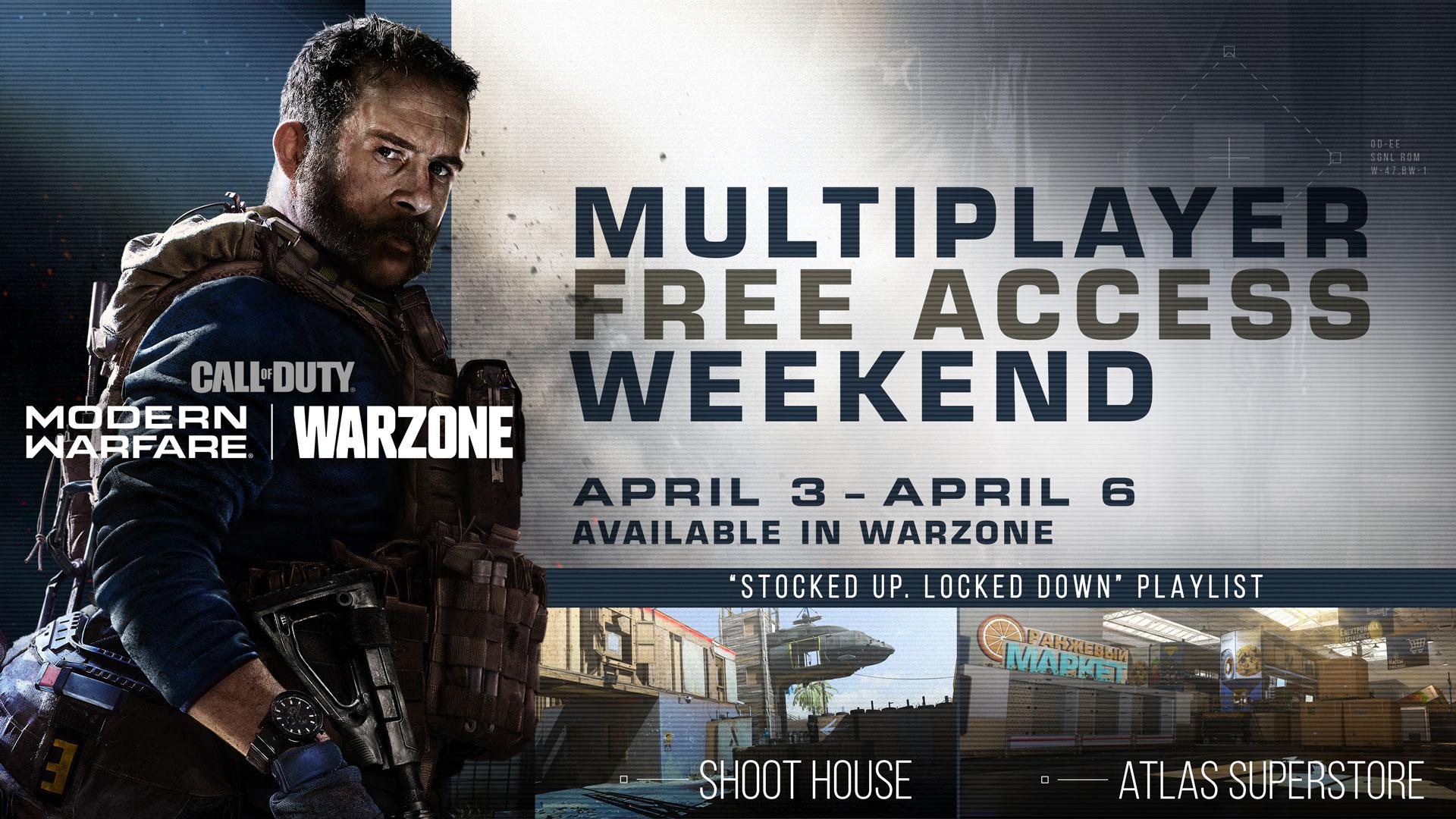 Call of Duty Modern Warfare gratis spielen bis 6.4.2020 (PC/PS4/Xbox One)