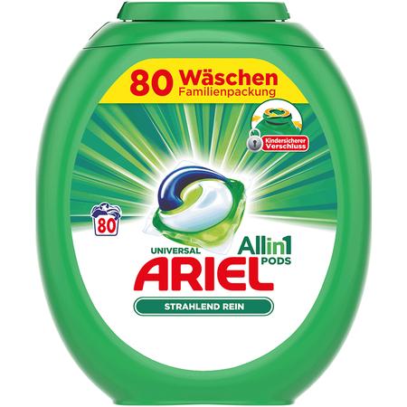 Ariel Pods um 16 Cent pro Waschgang