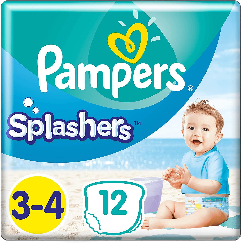 [Amazon] 96 Pampers Splasher Schwimmhose Grösse 3-4 für 8,54€ im Sparabo