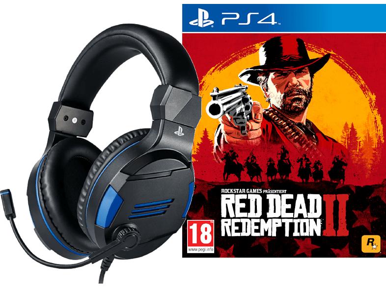 [Mediamarkt] BIGBEN Stereo-Headset V3 Playstation Lizenz für PS4 (BB371093) + Red Dead Redemption 2 um nur 39,98€