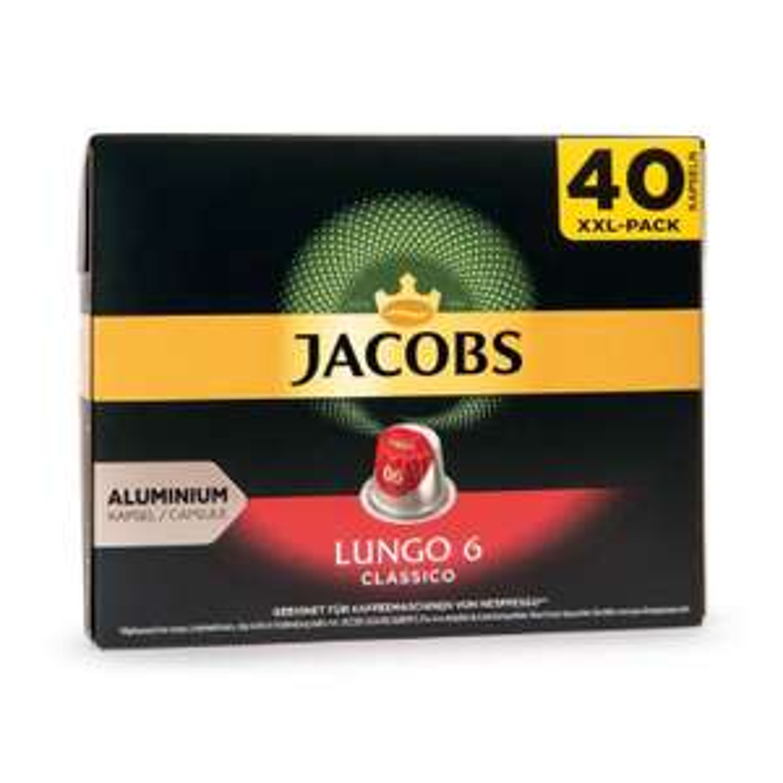 JACOBS Nespresso®-kompatible Café-Kapseln, Lungo 6