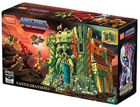 Mega Construx GGJ67 - Masters of the Universe Castle Grayskull Bauset mit 3508 Bausteinen