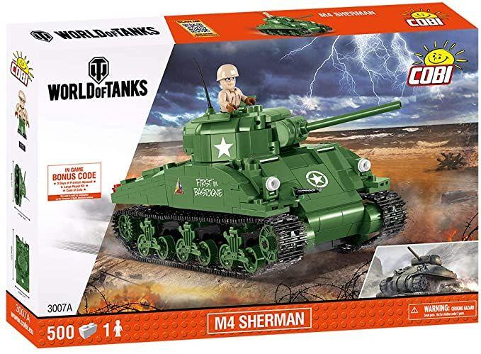 COBI 3007 - M4 Sherman Konstruktionsspielzeug