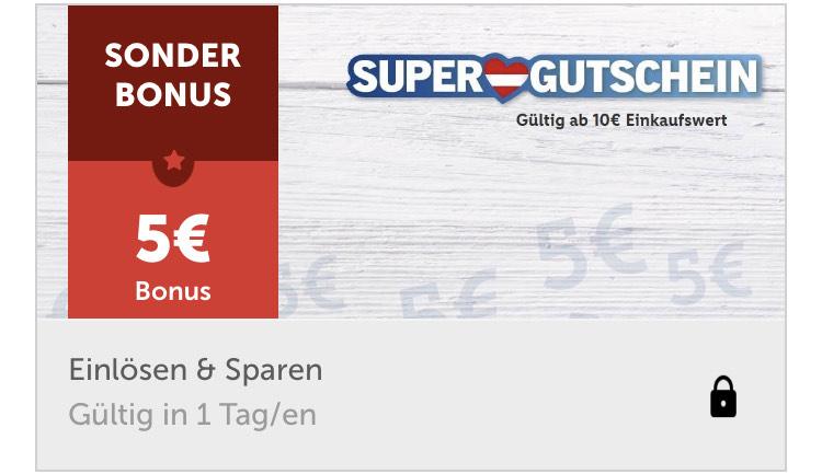Lidl App 5€ Gutschrift ab 10€ Einkauf