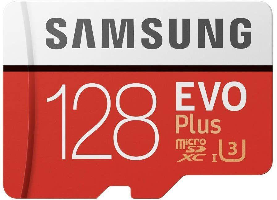 Samsung EVO Plus 128 GB microSDXC UHS-I U3 Speicherkarte inkl. SD-Adapter