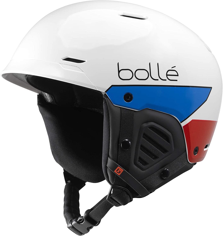 Bollé Unisex – Erwachsene Mute Skihelme White 52-55 cm