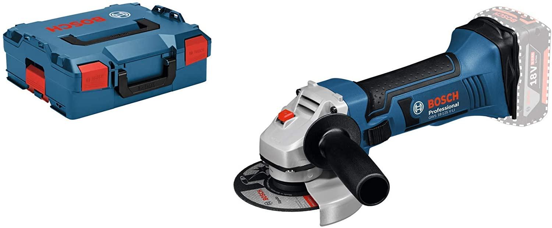 Bosch Professional GWS 18-125 V-LI Akku-Winkelschleifer solo inkl. L-Boxx