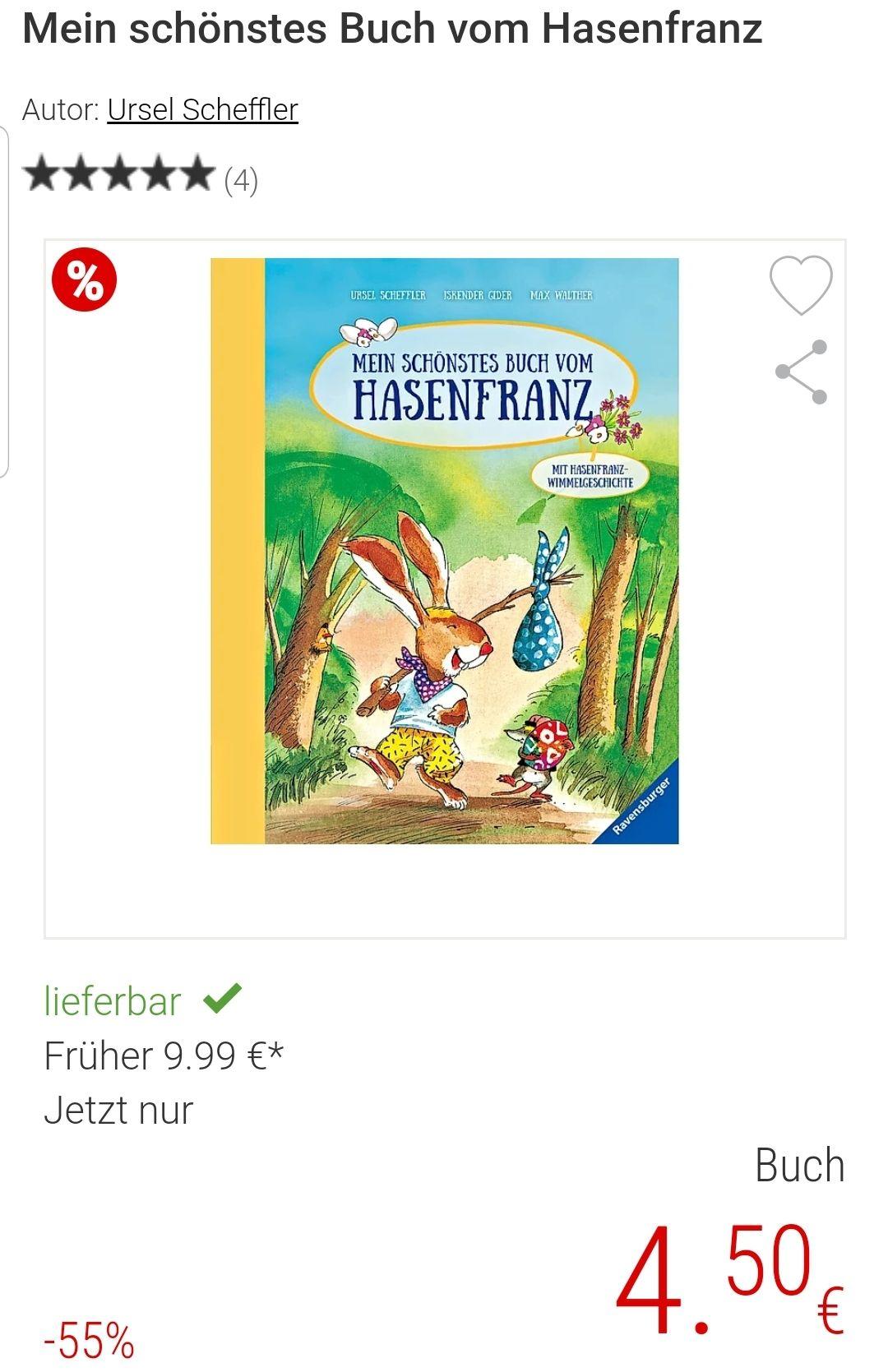 Osterbuch - Hasenfranz