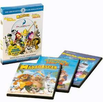 [DVD] Dreamworks DVD-Box für 15€