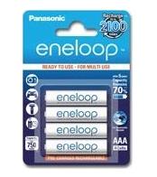 4x Panasonic eneloop, AAA Micro