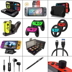Orzly Nintendo Switch Accessories Bundle