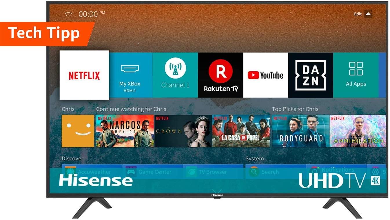 """Hisense """"H55BE7000"""" 55"""" 4K TV"""