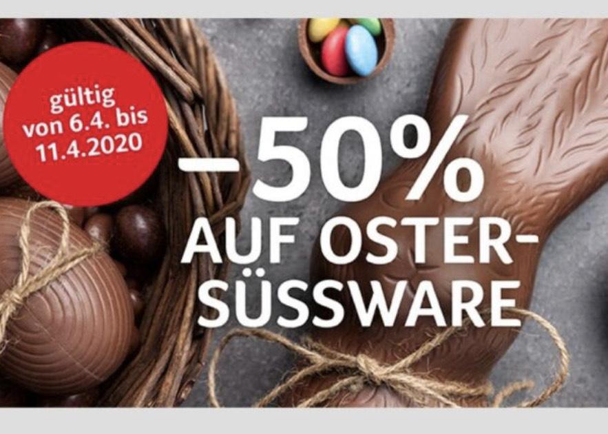 [Transgourmet] -50% auf Ostersüsswaren
