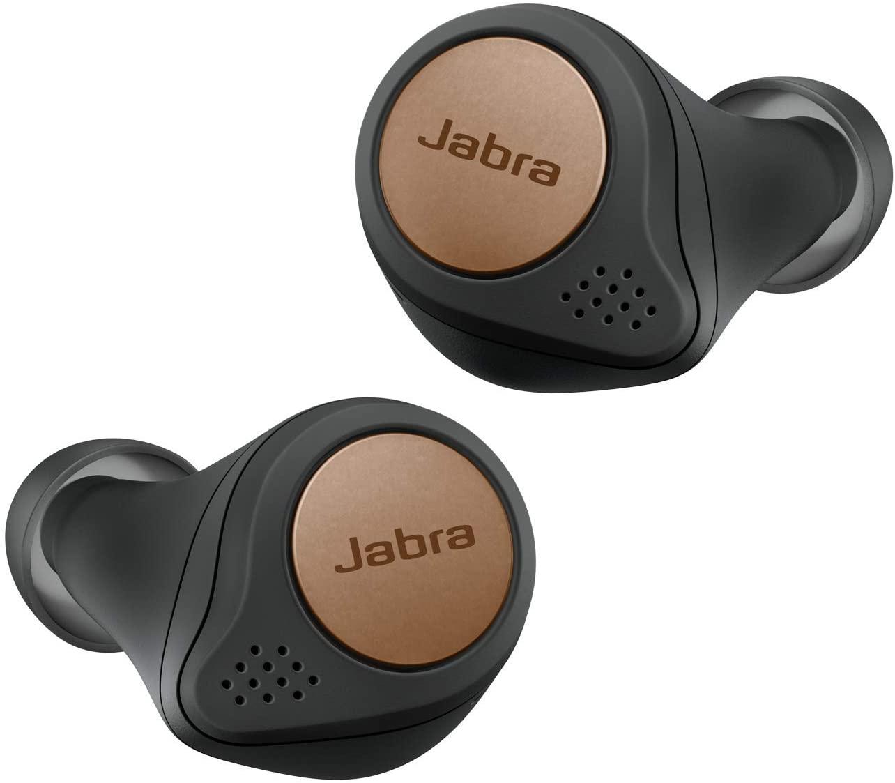 Jabra Elite Active 75t (Bluetooth 5.0, 28 Std. Akkulaufzeit mit Ladecase, Sprachsteuerung für Alexa, Siri und Google Assistant)