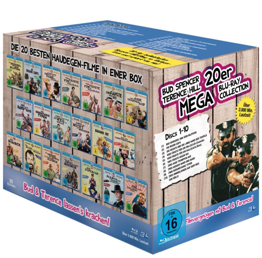 Bud Spencer & Terence Hill - 20er Mega Blu-ray Collection