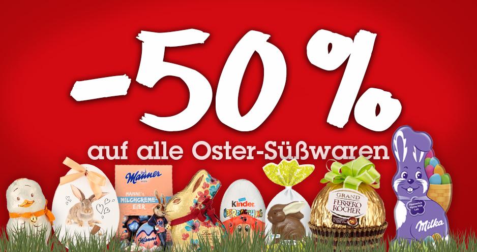 # Lokal Tiroler Oberland Tirol -50% auf alle Oster-Süßwaren