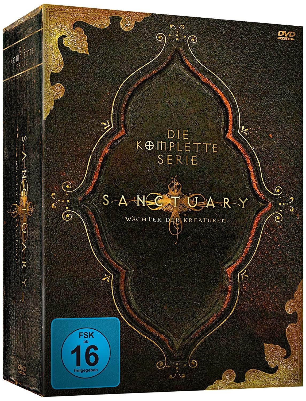 Sanctuary - Die komplette Serie (19 DVDs)