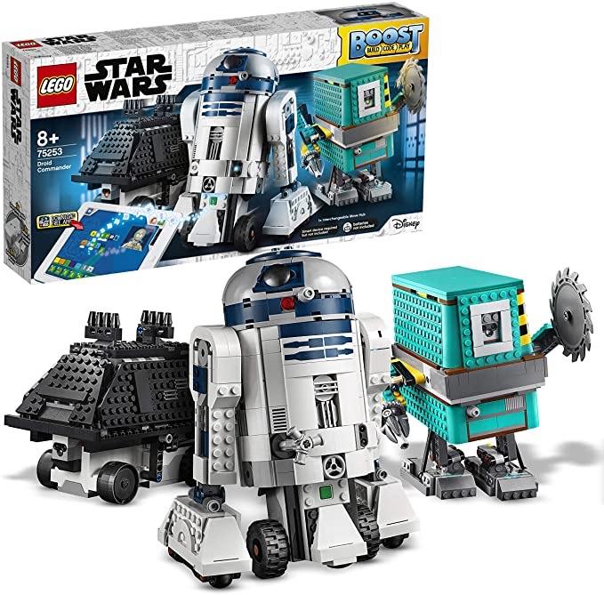 LEGO Star Wars BOOST Droide, App-gesteuerte und programmierbare Roboter,