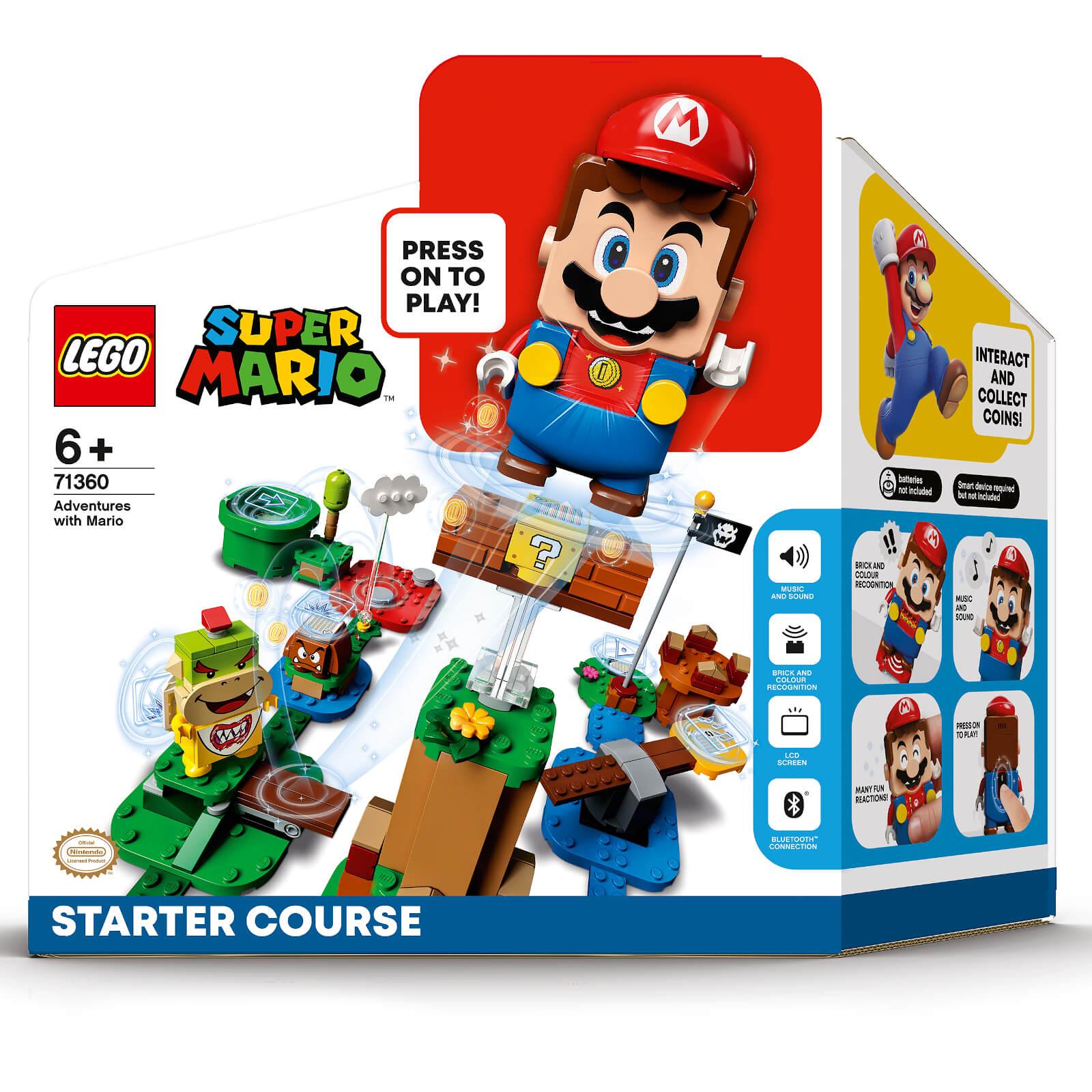 LEGO Super Mario Abenteuer Starterset + Superpilz Erweiterungsset